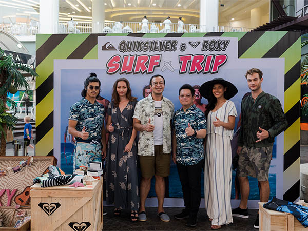 Quiksilver & Roxy Surf Trip Fashion Show at Phuket Jungceylon